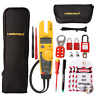 Fluke T5-1000 Voltage and Continuity Tester KIT2F w/ Case and MCB Lock Out Kit