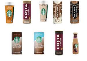 Starbucks,Emmi ,Lavazza,Costa,Cappuccin,Honest Frappuccino,Mocha,latte full case