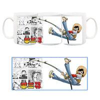 Sampei Ragazzo Pescatore Tsurikichi Sanpei Tazza Ceramica Mug Cup Manga Anime