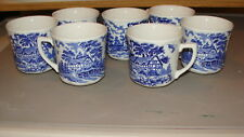 J & G MEAKIN ENGLAND IRONSTONE CHINA 7 CUPS