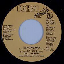 "DOLLY PARTON: Heartbreaker USA RCA DJ Promo 7"" Country 45 JH-11296 NM- MP3"