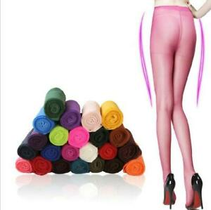 NEW Fashion Women transparent Tights Pantyhose Color Stockings new black