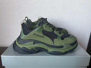 Balenciaga Triple S Khaki Sneakers sz. 44