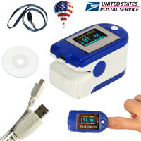 Finger Tip Pulse Oximeter SpO2/Heart Rate Monitor Blood Oxygen Meter,PC software