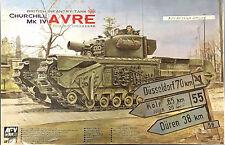 AFV CLUB - 1/35 Churchill Mk.IV AVRE British Infantry - Special Price. AF35169