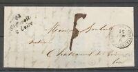 1851 Lettre Cursive 43/St Benoit/s-Loire, 20mm + C.15 LOIRET X4148