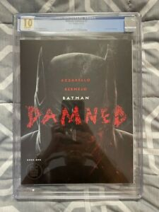 BATMAN DAMNED #1 CGC 10 GEM WHITE PAGES