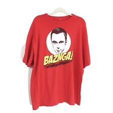 Big Bang Theory Tee-Bazinga.  2X