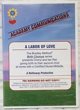 The Bradley Method Teacher's DVD A Labor of Love Midwife Assisted Birth