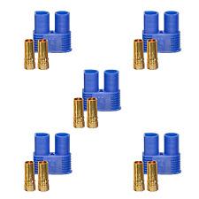 5 Stück EC3 Stecker 3,5mm 3.5mm Goldkontakt Verpolsicher 60A Weiblich Female