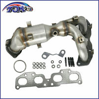 NEW EXHAUST MANIFOLD WITH CATALYTIC CONVERTER FOR 2007-2013 NISSAN ALTIMA 2.5L
