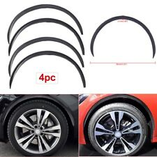 "4 x 28.7"" Carbon Fiber Auto Wheel Eyebrow Arch Trim Lips Fender Flares Protector"