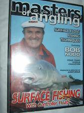 BOB NUDD Masters Of Angling- Surface Fishing with Controller Floats  DVD NEW