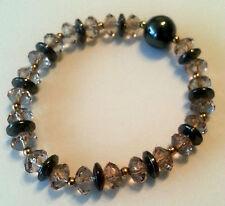 Fashion Jewellery Bracelet Magnet Hematite Diamond Color Brown 8mm #127