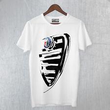 T-Shirt Maglietta Inspired Alfa Romeo Giulia Quadrifoglio Scudo Front Fine Art