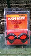 Millett 30 mm turn-in-Style basso Anelli