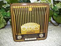 """OLDIES BUT GOODIES TIN BOX SONOMA ENTERTAINMENT 2010 - 6"""""""