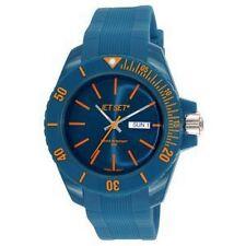 Montre JET SET Mixte WB30 Bubble  Bleue j83491-15