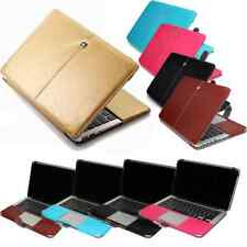 """Apple MacBook 12"""", 13"""" 15"""" Leather Cases Covers with Keyboard Covers A1708 A1706"""