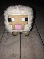 "Baby Sheep 7"" Minecraft Soft Plush Animal Toy Mojang 2014 White"