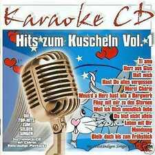 KARAOKE CD: HITS ZUM KUSCHELN Vol.1 ua. UDO JÜRGENS * CLAUDIA JUNG * NENA