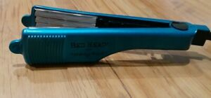 """Bed Head Totally Bent  2"""" Inch Hair Crimper Chrome Blue Model No BH307 -*TESTED*"""
