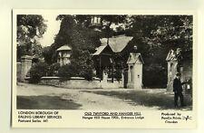pp1461 - Twyford - Hanger Hill House 1903 - Entrance Lodge - Pamlin postcard