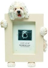 "E&S 35315-77 Old English Sheepdog Small Picture Frame 2 1/2"" x 3 1/2"" Nib"