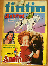 BD Comics Magazine Hebdo Journal Tintin No 52 37e 1982 Cinema Annie