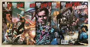 Star Trek Legion of Super-Heroes 1 - 6 (2011) IDW Comics Keith Giffen Mike Grell