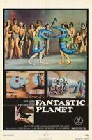 Fantastic Planet Movie POSTER 11 x 17 Barry Bostwick, Jennifer Drake, A