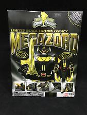 Bandai Mighty Morphin Power Rangers Legacy Black Megazord Limited Edition MISB