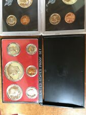 1970, 1971, 1972, 1976 Proof Sets United States Coin Sets, Bicentennial, Dollar