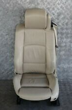 BMW 3 Series E93 Cabrio Sport Cream Beige Leather Front Left N/S Seat Memory