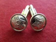 Boutons manchette Cufflink 14mm USSR URSS RUSSIA RUSSIE ARMY RED ARMÉE ROUGE
