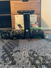 Xbox 360 with Kinect 250GB Black Console
