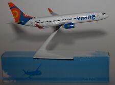 Viking Airlines Sweden Boeing B737-8Q8(WL) SE-RHR Push Fit Model 1:250 Scale
