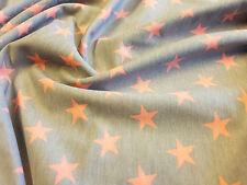 Sudadera estrellas Jersey Tejido Elástico Por Metro Media de 180cm de ancho,