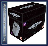 DOCTOR WHO COMPLETE SERIES 1 2 3 & 4  DVD BOX SET *BRAND NEW*