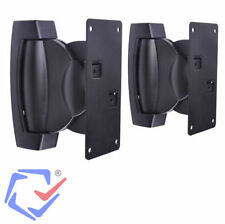 Soportes de pared para altavoces 2 unidades Soportan hasta 10 KG HiFi Par cajas