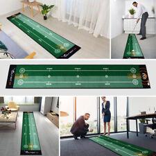 Indoor Outdoor 50*300cm Golf Putting Mat Golf Putting Trainer Anti-Slip No Odor