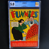 THE FUNNIES #9 (Dell 1937) 💥 CGC 5.0 💥 ONLY 8 in CENSUS! SHELDON MAYER ART