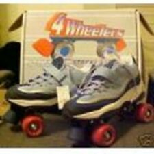 size 13 youth SKECHERS 4 WHEELER ROLLER SKATES skate quad derby kids childrens