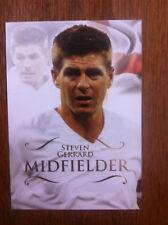 2011 Futera Unique Soccer Card - England STEVEN GERRARD Mint