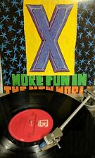 X- More Fun In The New World Tested Vinyl Lp 9 60283-1 Elektra 1983