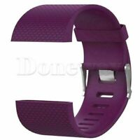 Sports Silicone Rubber Replacement Band Wrist Strap For Fitbit Surge Smart Watch