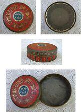Ancienne boite VICHY ETAT pub métal ronde former round metal box