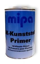 MIPA 1K KUNSTSTOFF Plastic Clear Adhesion Primer RFU 1 Litre FREE NEXT DAY DEL