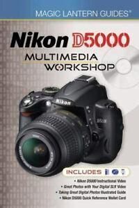NIKON D5000 MULTIMEDIA WORKSHOP CAMERA GUIDE  BOOK +DVDS Buy 3 Books Post Free