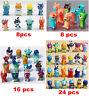 8/16/24Pcs Slugterra Mini Action Figuren Figur Spielzeug Puppe Sammlung Geschenk